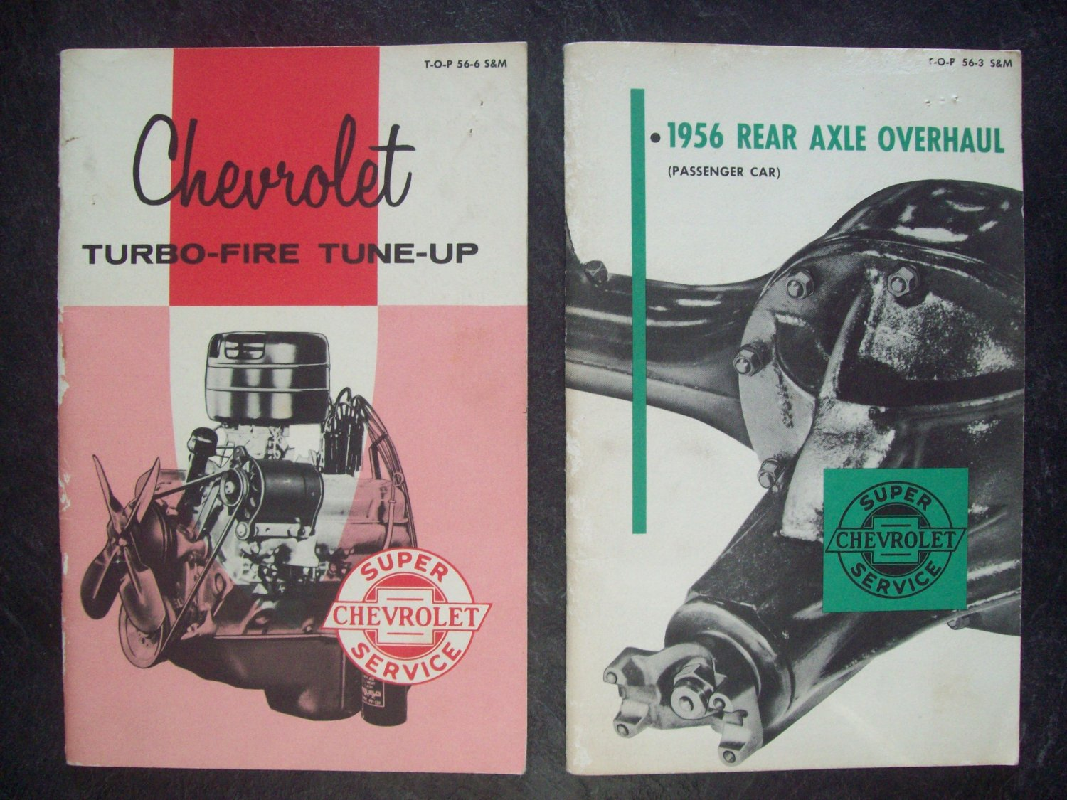 1956 Chevrolet tune up / axle manual