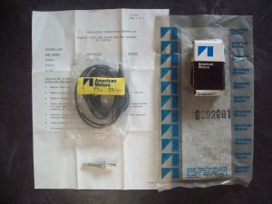 American Motors courtesy light door switch and wire kit