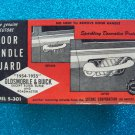 Sutone 1954 1955 Olds Oldsmobile & Buick door handle guard