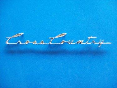 American Motors AMC Rambler Cross Country emblem ornament