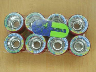 Hyper Rave aluminum hub roller skate rollerskate wheels