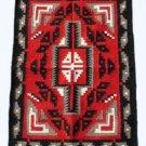 Southwestern Native American Design Handwoven Wool Rug