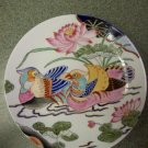 Macau China Painted Birds Plate