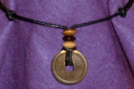 LUCKY CHINESE COIN NECKLACE - HANDCRAFTED FENG SHUI JEWELRY