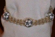 HEMP SOCCER BALL BRACELET