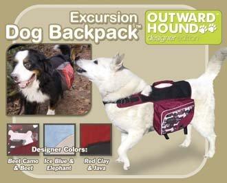 Outward Hound Dog Backpack - Excursion Style - Medium