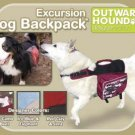 Outward Hound Dog Backpack - Excursion Style - Medium