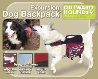Outward Hound Dog Backpack - Excursion Style - Small