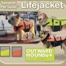 Outward Hound Pet Saver Dog Life Jacket Vest - Designer Series - Small
