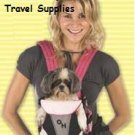Outward Hound Designer Pink Legs-Out Pet Carrier - Small