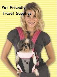 Outward Hound Designer Pink Legs-Out Pet Carrier - Small