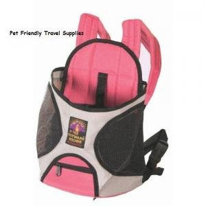 Outward Hound Designer Pink Front Dog Carrier Medium