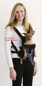 Outward Hound Legs Out Front Dog Pet Carrier - Medium