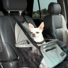 Outward Hound Designer Car Booster Dog Seat Gray Fabric Small holds pets up to 20 lbs.