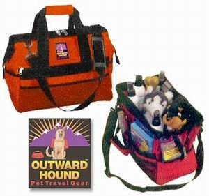 Outward Hound Large Wide Mouth Pet Gear Dog Grooming Bag