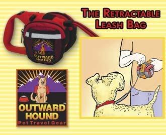 Outward Hound Retractable Leash Bag