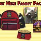 Outward Hound Day Hike Dog Fanny Pack with 2 Bottles