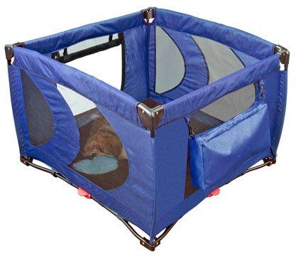Pet Gear Home 'N Go Pet Pen Dog Puppy Play Area ~ Cobalt Blue 36 x 36 x 26