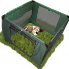 Pet Gear Home 'N Go Pet Pen Dog Puppy Play Area ~ Moss Green 48 x 48 x 36