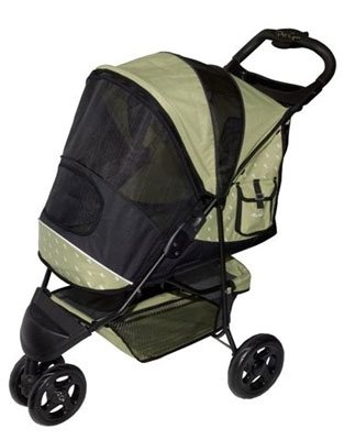 Pet Gear Special Edition Pet Dog Stroller holds pets up to 45 lbs.