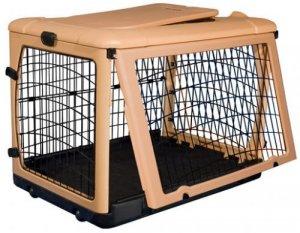 """Pet Gear Deluxe Steel Dog Crate 36"""" Medium Kennel Home The Other Door"""