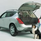 MIDWEST Universal Wire Mesh Pet Barrier Secures Dog Safely in Rear of Vehicle