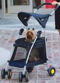 Outward Hound Walk n Roll Pet Dog Stroller Pink or Blue
