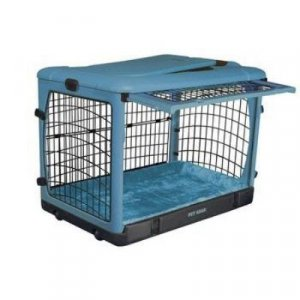 "Pet Gear Steel Dog Crate Kennel The Other Door 36"" Medium lavender blue pink sage brick"