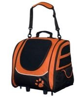 5 in 1 Pet Gear I-GO2 Traveler Roller Backpack Dog Tote Car Booster Seat Carrier Assorted Colors