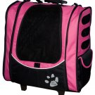 5 in 1 Pet Gear I-GO2 Escort Roller Backpack Dog Tote Car Booster Seat Carrier Assorted Colors