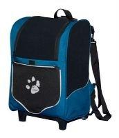 5 in 1 Pet Gear I-GO2 Sport Roller Backpack Dog Tote Car Booster Seat Carrier Misty Blue or Black