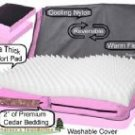Small Pet Gear Nature's Foundation Deluxe Dog Bed - Pink Ice or Red Poppy