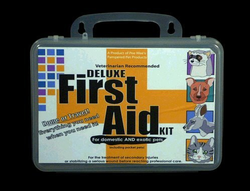 Deluxe Veterinarian Recommended First Aid Kit for Home or Travel Dog Cat any pets