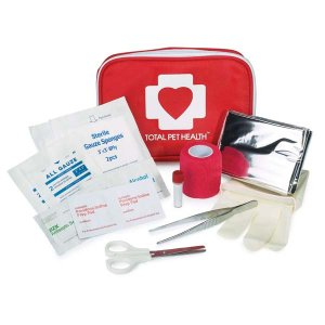 Total Pet Health First Aid Kit for Home or Travel Dog Cat any pets