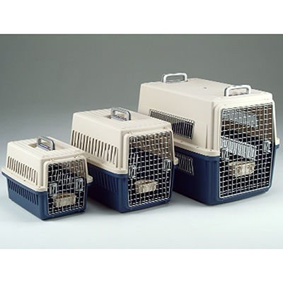 Iris USA Commercial Grade Auto Pet Carrier Dog Kennel Travel Crate Airline Approved Medium