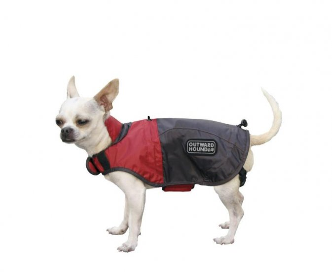 Outward Hound Dog Designer Rain Jacket - Foul Weather Gear - Small Designer Colors