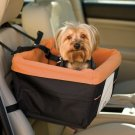 Kurgo Skybox Dog Booster Seat holds pets up to 30 lbs. RIDE IN LUXURY WITH A SKYBOX VIEW