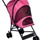 PINK Pet Gear Travel-Lite Dog Stroller dogs up to 20 lbs. Keeps pesky bugs out
