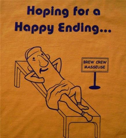 "Milwaukee Brewers ""Happy Ending"" Shirt"