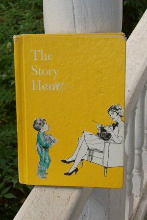 Vintage 1953 Story Hour Children's Book Crafts Scrapbooking Poems Stories