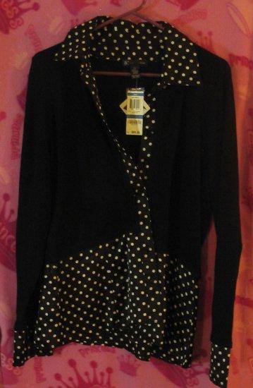 Jones New York Women's clothing shirt top brand name I.N.C.
