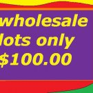 Wholesale Lot for resale