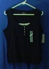 Charter Club Petite Medium Womens shirt women's clothing wholesale lots