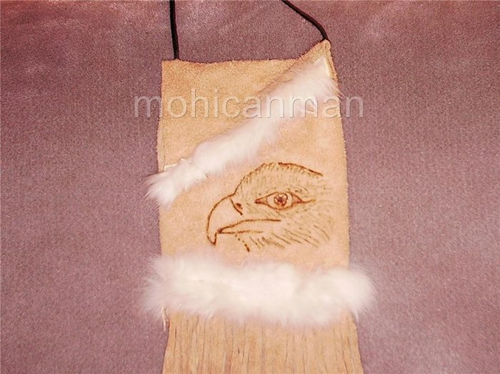Eagle Bag leather tobacco pouch