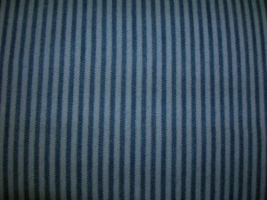 Blue Striped Shopping Cart Cover