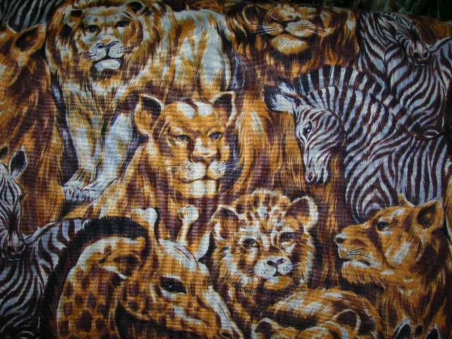 Wild Animal Shopping Cart Cover