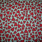 Red Hearts Shopping Cart Cover