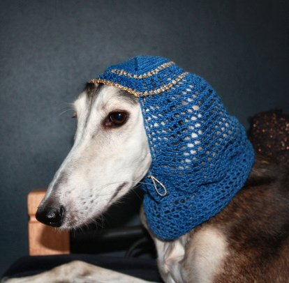 Harem snood - Blue