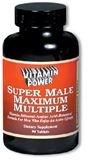 Super Male Maximum Multiple (180 Capsules)