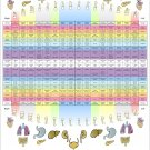"""Dental Meridian Acupuncture Poster 24"""" X 36"""" Holistic Wall Chart"""